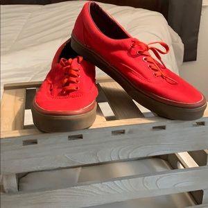 Red Male Vans
